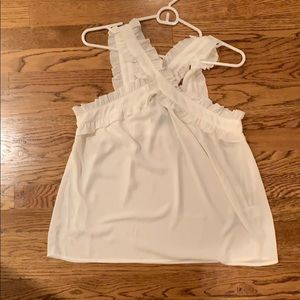 New with tags J.Crew ivory top